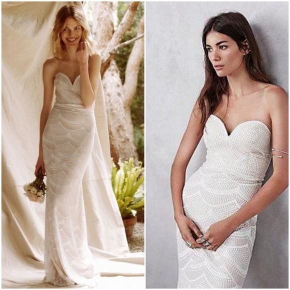 0dfede7d90d Free People Stone Cold Fox Market Gown